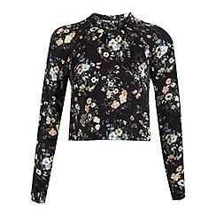 Miss Selfridge - Woodland print blouse