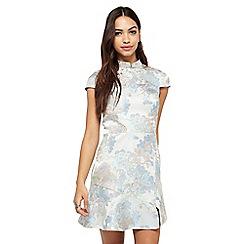 Miss Selfridge - Jacquard chinoise dress