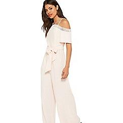 Miss Selfridge - Lace top jumpsuit