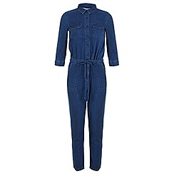 Miss Selfridge - Denim utility boiler suit