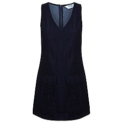 Miss Selfridge - Indigo denim tunic dress