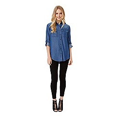 Miss Selfridge - Roll sleeve shirt