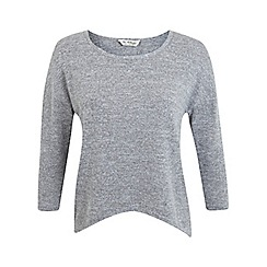 Miss Selfridge - Long sleeve twist back top
