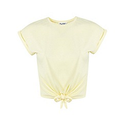 Miss Selfridge - Tie front tee