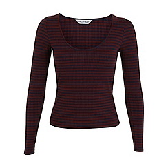 Miss Selfridge - Stripe long sleeve top