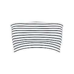 Miss Selfridge - Stripe bandeau top