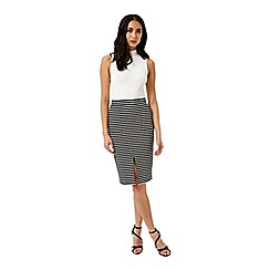 Miss Selfridge - Bretton stripe pencil skirt