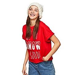 Miss Selfridge - Up to snow good t-shirt