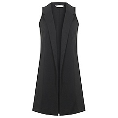 Miss Selfridge - Sleeveless duster jacket