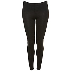 Miss Selfridge - Black ankle leggings