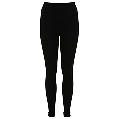 Miss Selfridge - Black high waist tube trouser