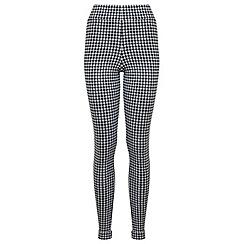 Miss Selfridge - Dogtooth tube trouser