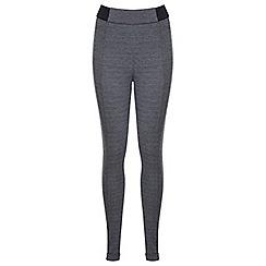 Miss Selfridge - Black mono zig zag trousers