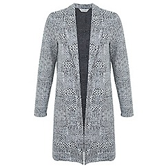 Miss Selfridge - Mono check duster jacket