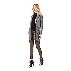Miss Selfridge - Grey colour block jacket