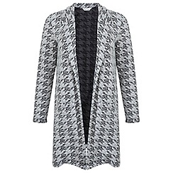 Miss Selfridge - Mono print duster jacket