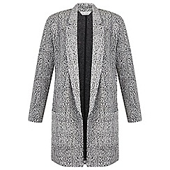 Miss Selfridge - Mono duster jacket