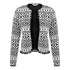 Miss Selfridge - Pom pom trim jacket
