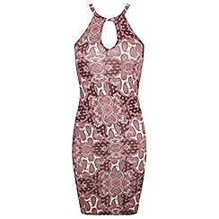 Miss Selfridge - Paisley 90's mini dress