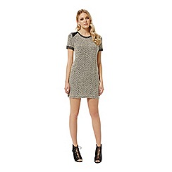 Miss Selfridge - Cream boucle tunic dress