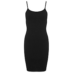 Miss Selfridge - Black strappy dress