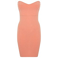 Miss Selfridge - Bandeau bodycon mini dress