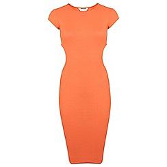 Miss Selfridge - Slinky rib midi dress