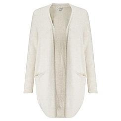Miss Selfridge - Cream slouchy pocket cardigan