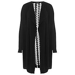 Miss Selfridge - Black lace back cardigan