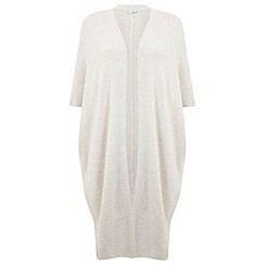 Miss Selfridge - Oatmeal cocoon cardigan