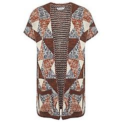 Miss Selfridge - 70s pattern cardigan