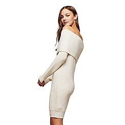 Miss Selfridge - Cream bardot dress