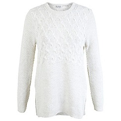 Miss Selfridge - Cable side split jumper