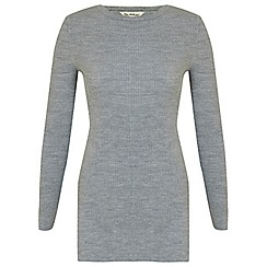 Miss Selfridge - Grey side split tunic