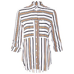 Miss Selfridge - Variated stripe shirt