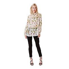 Miss Selfridge - Floral chiffon shirt