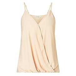 Miss Selfridge - Nude drape cami