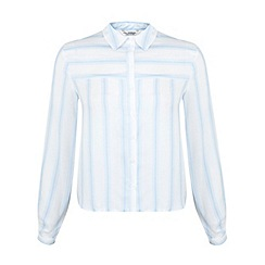 Miss Selfridge - Boxy stripe shirt