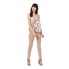 Miss Selfridge - Floral double layer cami