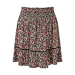 Miss Selfridge - Ditsy rara skirt