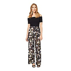 Miss Selfridge - Tropical wide leg