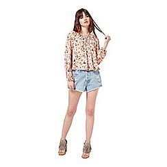 Miss Selfridge - Long sleeve floral blouse