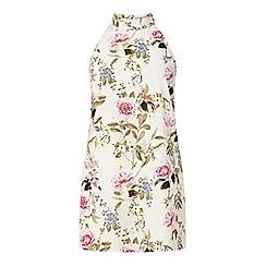 Miss Selfridge - Blossom high neck tunic