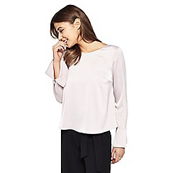 Miss Selfridge - Silky bar back top