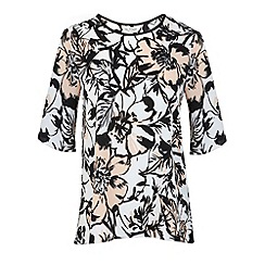 Miss Selfridge - Sopfie floral tee