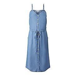 Miss Selfridge - Bleach supersoft denim dress