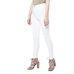 Miss Selfridge - Steffi white super high waist