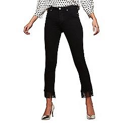 Miss Selfridge - Tassel hem lizzie jeans