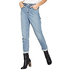 Miss Selfridge - Mid wash mom jean
