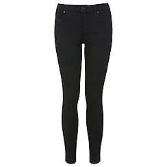 Miss Selfridge - Reg black ultra soft jean